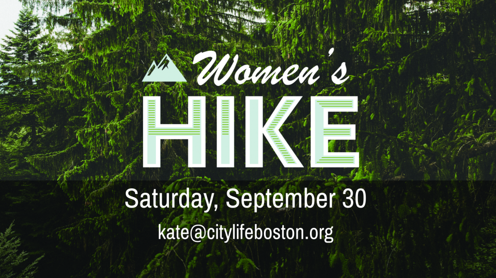 Women's Hike Saturday, September 30 kate@citylifeboston.org